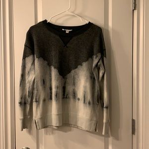 AMERICAN EAGLE Grey and white Tie dye sweatshirt